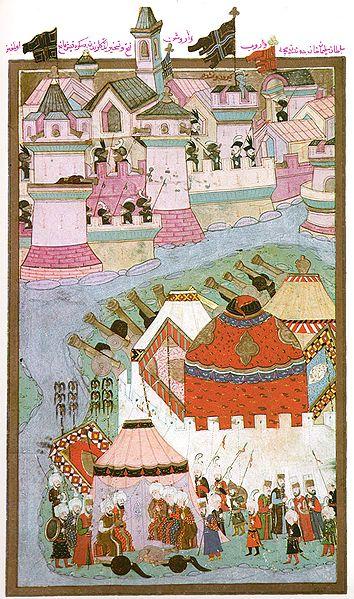 Osmanska minijatura koja prikazuje poraz Turaka pred Bečom