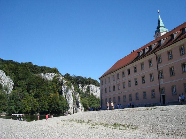 Samostan Weltenburg u čijem se sklopu nalazi jedno od starijih postrojenja za proizvodnju piva na svijetu