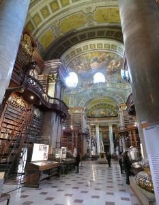 Unutrašnjost Nacionalne biblioteke u Beču