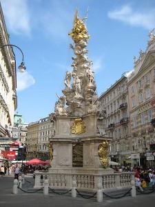 Bečki Stub kuge (Wiener Pestsäule) izgrađen u čast žrtvama ove bolesti s kraja 17. stoljeća