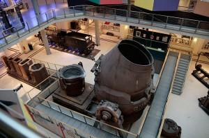 Unutrašnjost Tehničkog muzeja