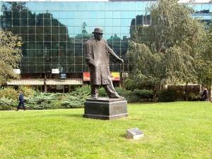 Spomenik Branislavu Nušiću u Beogradu
