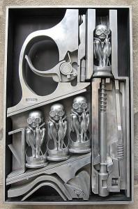 Gigerova skulptura Rođenje mašina